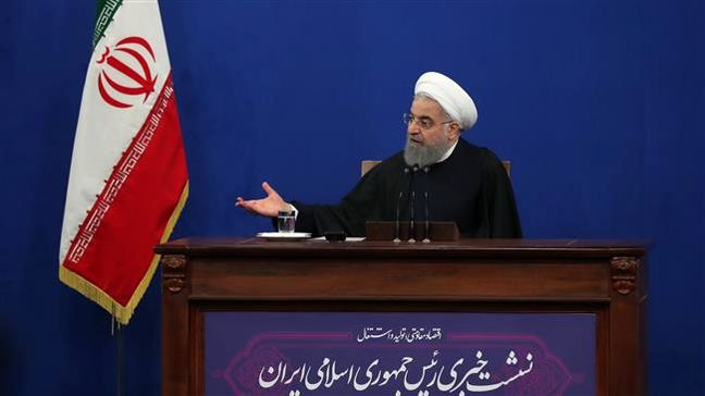 Iran's Rouhani rules out talks about JCPOA, missiles