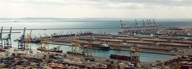 Docking of Container Vessels at Shahid Rajaee Port Up 14%