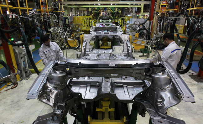 Industrial Production Index Up 5.5 Percent