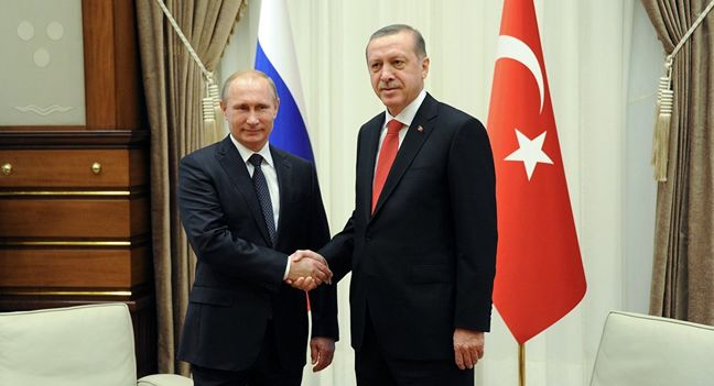 Putin, Erdogan Mend Ties as Post-Coup Turkey Turns to Russia