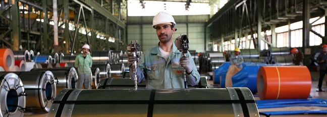 Iranian Steel Sales Nearly Double to $4b