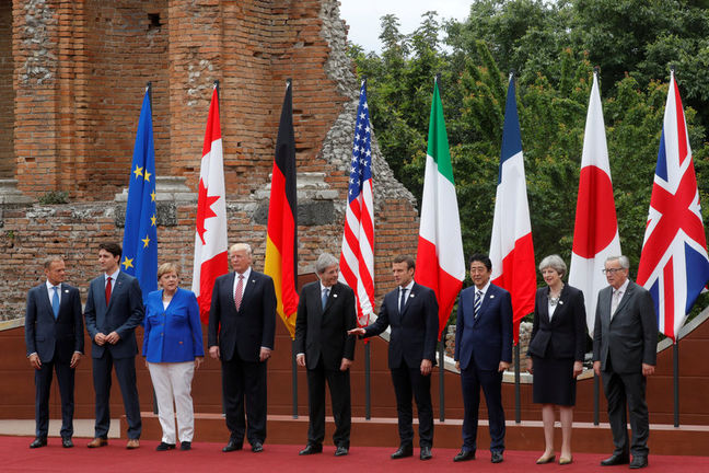 G7 leaders turn gaze to Africa, climate harmony elusive