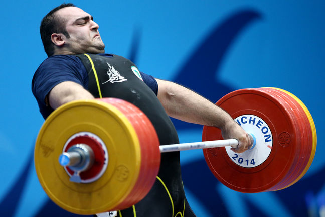 Iran weightlifting team gains 1st ever world champ title