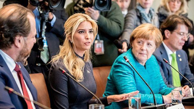 Ivanka Trump Goes to Berlin as Merkel Seeks a White House Backchannel