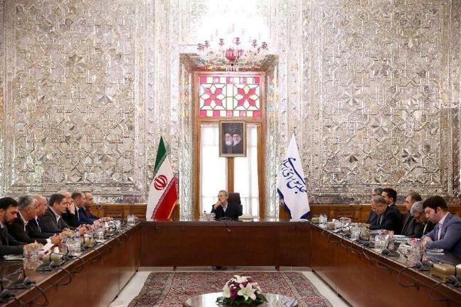 Larijani stresses developing Iran-Georgia ties