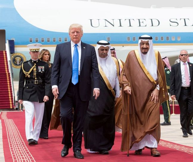 U.S., Saudi firms sign tens of billions of dollars of deals as Trump visits