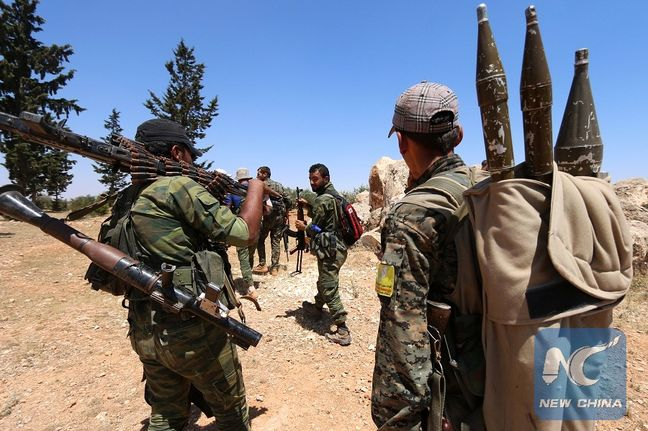 Syrian forces besiege rebel-held Aleppo as Turkish-backed fighters drive Islamic State from border