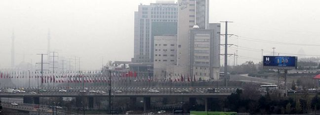 Ozone Pollution Suffocating Tehran