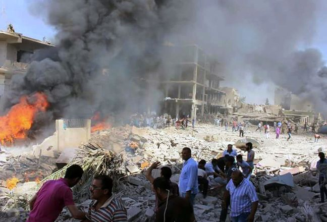 Blasts hit govt-held and Kurdish parts of Syria: state media, monitor