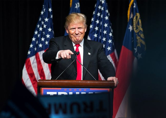 Beating rivals and the odds, Trump captures Republican nomination