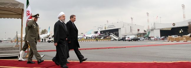 Rouhani Sets Off on Tour of Malaysia, Japan