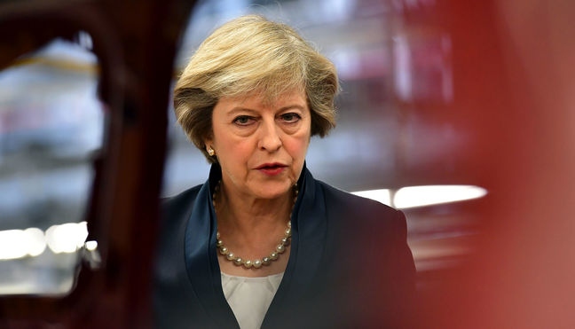 UK economy will suffer after Brexit vote: British PM May