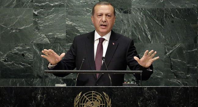 Turkey's Erdogan urges world to act against U.S.-based Gulen