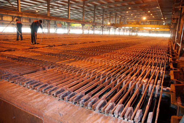 Copper Concentrate Output Grows 10%