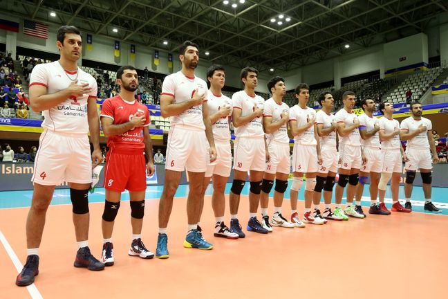 12 volleyball players named to play for Iran in 2016 Rio Olympics