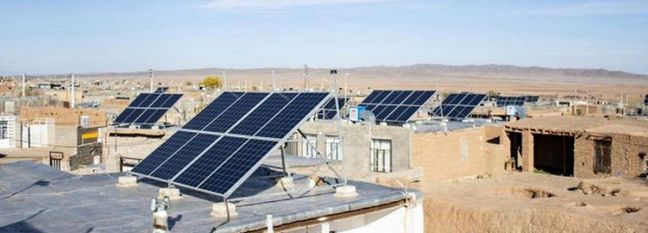 Solar Power for Nomads in South Khorasan