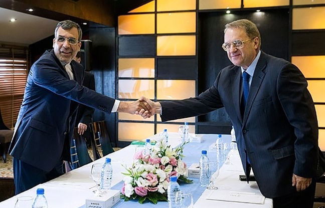 Iran, Russia stress continued cooperation on Syria