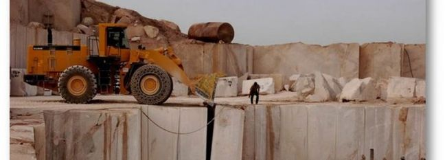 2.3m Tons of Travertine Extracted From Mahallat Mines