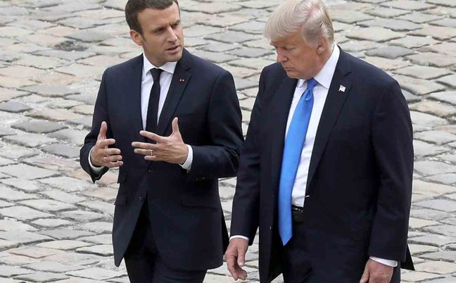 Trump may reverse decision on climate accord, France's Macron says: JDD