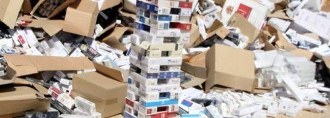 Cigarette Smuggling Up 78%