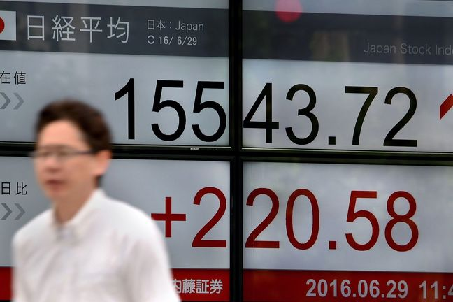 Stocks Rally Eases in Asia; Dollar Resumes Slide