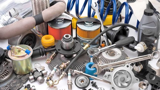 Which countries buying Iran car spare parts?