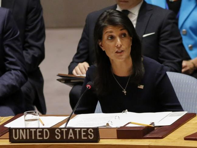North Korea Says U.S. to Pay Dearly for Haley's 'Hysteric Fit'