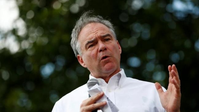 Clinton's classified email errors due to 'improper labeling:' Kaine