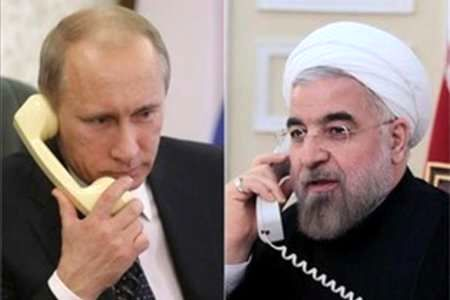 Iranian, Russian presidents discuss Syrian crisis over phone