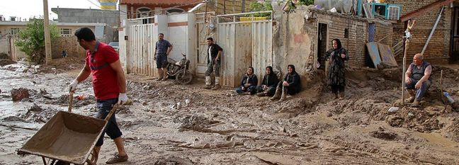 Flood-Hit Areas in Iran Exempt From Gas Bills