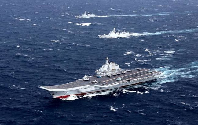 Wary of Trump unpredictability, China ramps up naval abilities