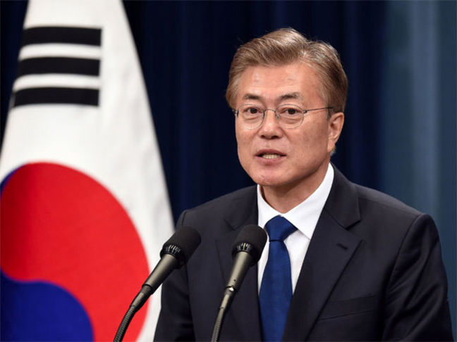 Moon Warns North Korea Against Provoking During Military Drills