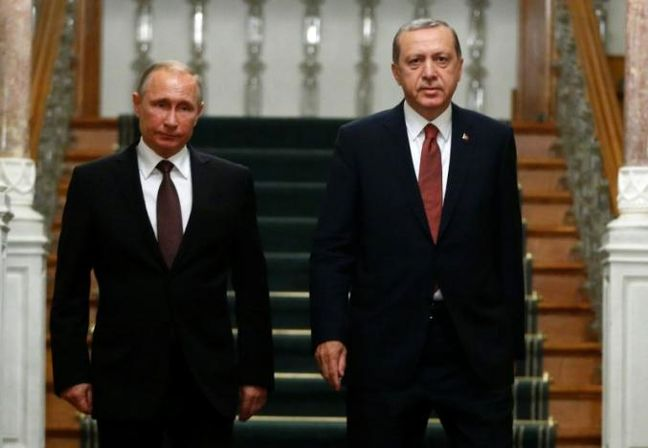 Turkey Pledges to Work for Syrian Cease-Fire After Moscow Talks