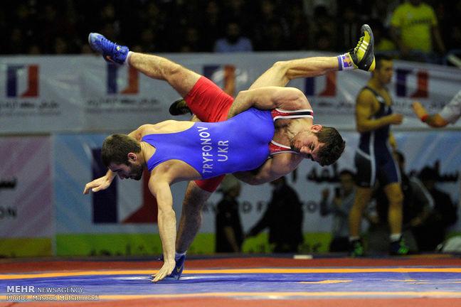Iran's Greco-Roman wrestling team ranks 3rd at world cup