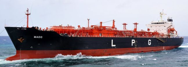 LPG Shipment to China on Track