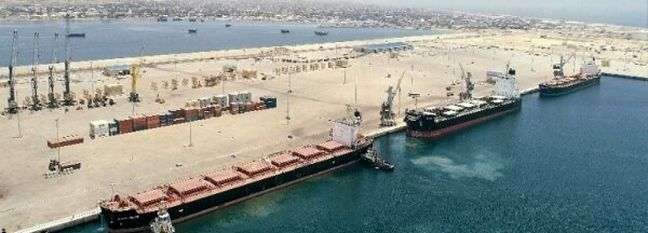 Over 66K Tons of Brazilian Sugar Being Unloaded at Chabahar