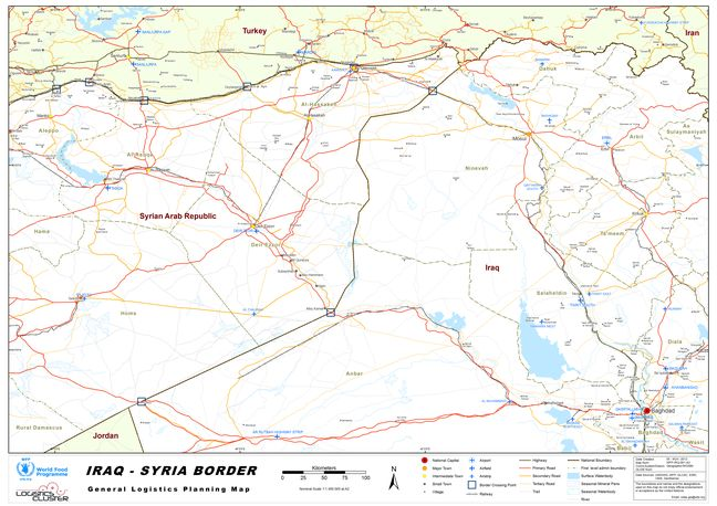 Syrian army sends reinforcements toward border with Iraq: rebels