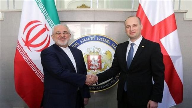 Iran FM discusses bilateral ties with Georgian officials