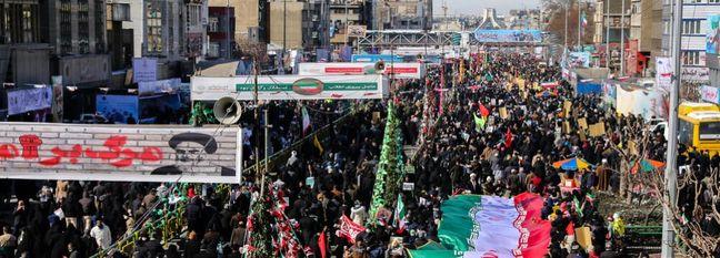 Nationwide Rallies Mark Revolution Anniversary