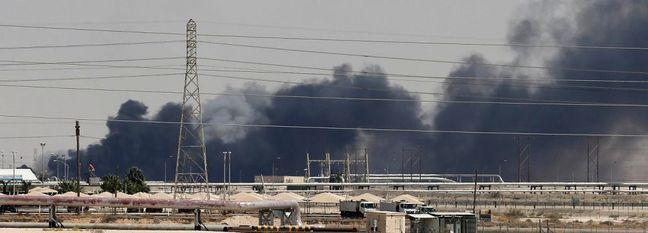 Half of Saudi Oil Output Cut