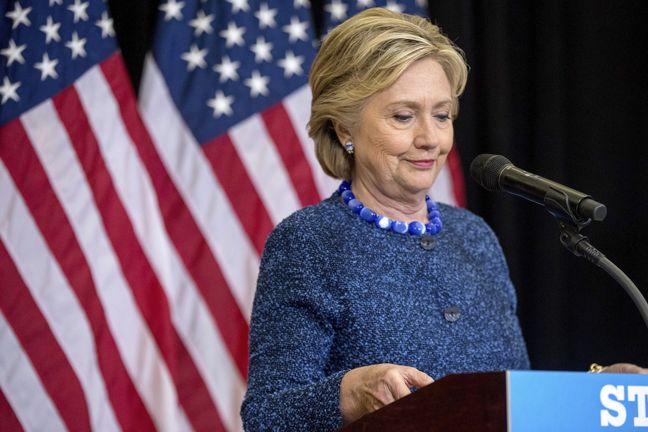 Clinton takes on FBI director in latest email flap