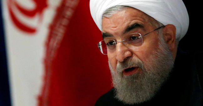 President says removal of UN anti-Iran sanctions is his red line