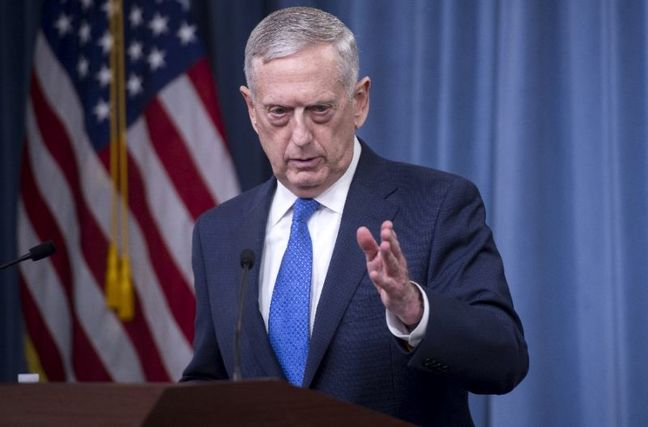 U.S. says Iranian-directed convoy targeted by U.S. strike in Syria