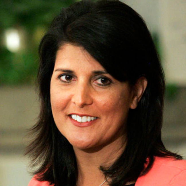 U.S. Senate confirms Haley as Trump's U.N. ambassador