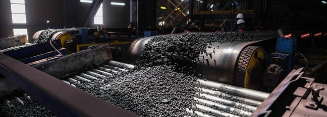 Iron Ore Pellet Output Rises to 14.8m Tons YOY