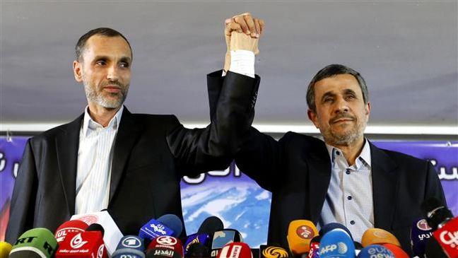 Ahmadinejad says won't run for president, backs ex-vice president Baqaei