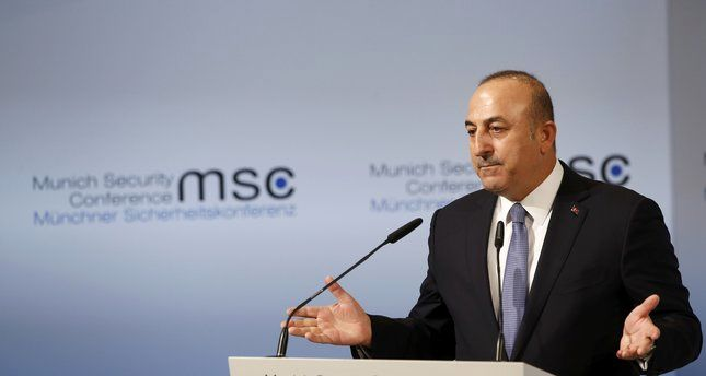 Spokesman: Turkey's FM remarks in Munich 'unconstructive'