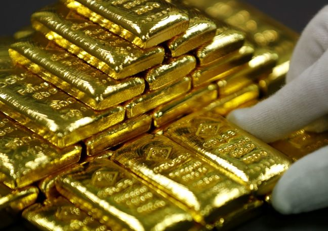 Gold Drifts in Negative Territory