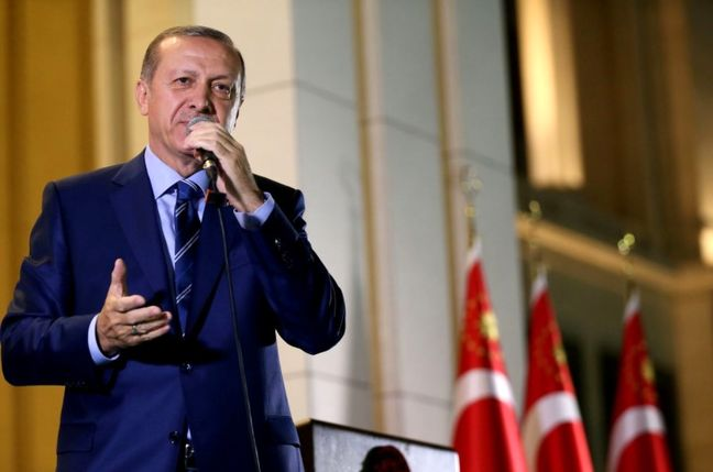Erdogan Links Coup Suspects, PKK to Bomb Attacks