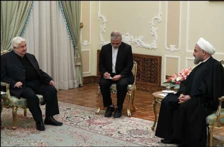 Rouhani: Iran welcomes sustainable ceasefire in Syria